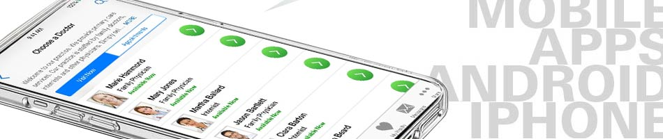 Mobile Phone App developer.  Application software development
